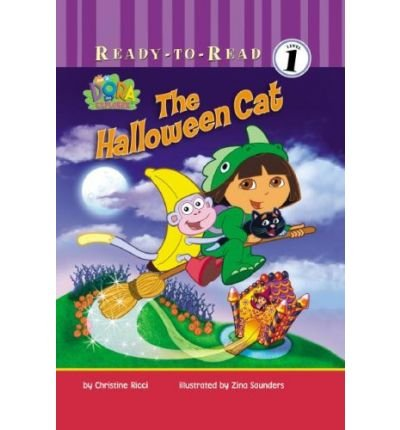 The Halloween Cat (Dora the Explorer (Simon Spotlight)) [ THE HALLOWEEN CAT (DORA THE EXPLORER (SIMON SPOTLIGHT)) ] by Ricci, Christine (Author ) on Jul-01-2008 Library ()
