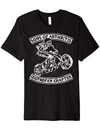 Sons mit artihritis T-Shirt iburofen Motocross Motorrad