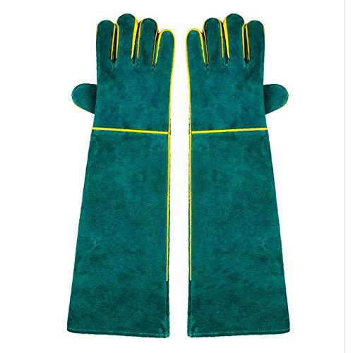 Aolvo Tierhandschuhe, kratz- / bissfeste Handschuhe, extra