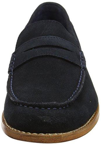 Chatham Herren McQueen Slipper Blau (Marineblau), Wildleder