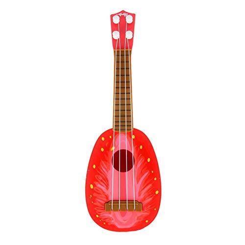 Hamkaw Mini Guitare pour Enfants, ukulélé pour Enfants, Portable, Convient pour débutants et Enfants de Plus de 3 Ans, Tipo 3
