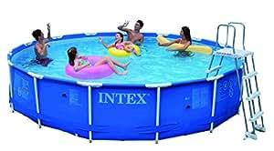 Intex IN28232 Kit de Piscine Métal 4,57 x 0,91 cm