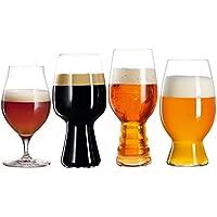 Spiegelau & Nachtmann 4991697Tasting Kit Set/4499/53_ 51_ 52_ 21Craft Beer Glasses UK/3, 4Unidades, Transparente, 19.6x 37,2x 10.19cm