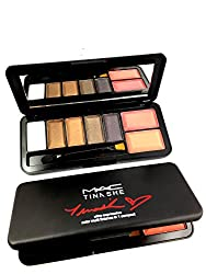 M.A.C (Makeup art cosmetics) eyeshadows & blushers kit dashing look