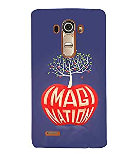 EPICCASE Imagine apple Mobile Back Case Cover For LG G4 (Designer Case)