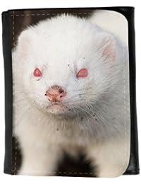 le portefeuille de grands luxe femmes avec beaucoup de compartiments // V00002853 hurón albino // Small Size Wallet