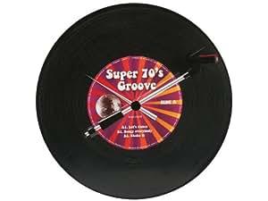 Karlsson KA5390 Horloge Spinning Record Groovy 70's Plastique 36 x 6 cm