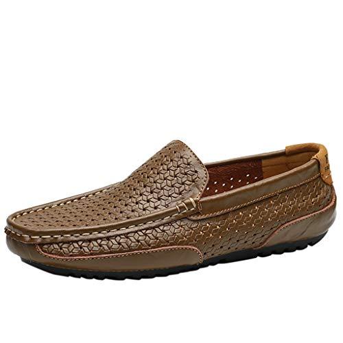 YU'TING Mocasines Hombres Zapatos Vestir Casuales