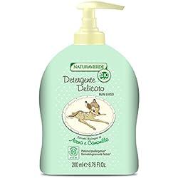 Naturaverde Bio Detergente Delicato Mani&Viso - 237 gr - [confezione da 3]