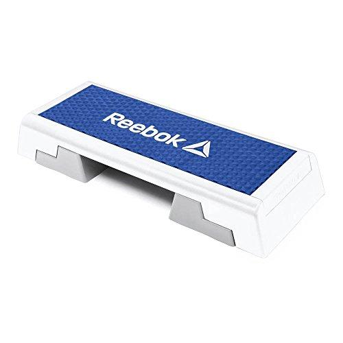 Reebok Step mit DVD, blau/weiß