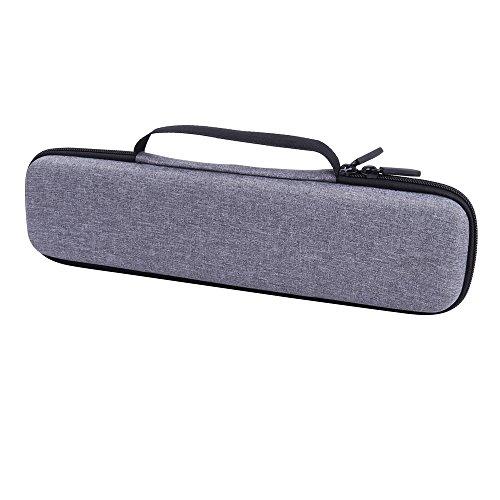 Reise Lagerung Tasche für Haarglätter/Lockenstäbe mit 12xclips für Braun/Remington/ghd/KIPOZI/Lee Stafford/Grundig/CkeyiN/Anjou von Aenllosi (Grau)