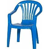 Fun Star 661812 - Silla de comedor para exterior, color azul