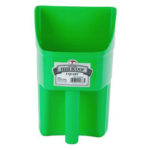 little-giant-3-quart-enclosed-feed-scoop-lime-green-by-little-giant-outdoor-living