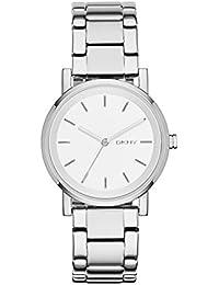 DKNY Damen-Armbanduhr SOHO Digital Quarz Edelstahl NY2342