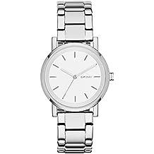 f69bb616ec40 DKNY Reloj Analógico para Mujer de Cuarzo con Correa en Acero Inoxidable  NY2342