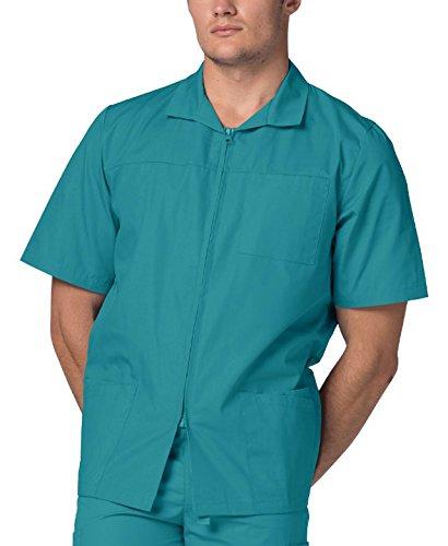 Schrubb-Jacke für Männer, Arbeitsjacke für Krankenschwestern & Ärzte -