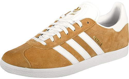 adidas Gazelle, Zapatillas para Hombre, Marrón (Mesa Footwear White 0), 43 1/3 EU