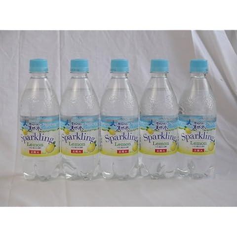 500mlX5 questo Suntory Alpi del Sud di acqua naturale frizzante limone bottiglie d'acqua soda