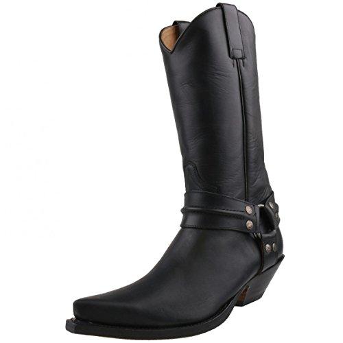 Sendra cowboystiefel 3305 noir Noir - Noir