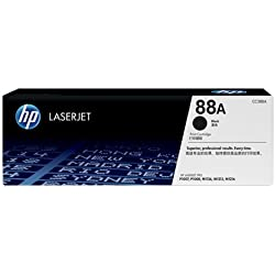 HP 88A Black LaserJet Toner Cartridge CC388A