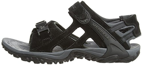 Merrell Men's Kahuna IIi Hiking Sandals, Black (Black), 14 UK (48 EU)