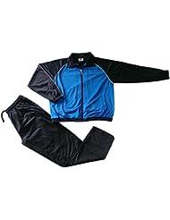 herbold Sportswear Chándal infantil, primavera/verano, infantil, color Azul - Blau/Schwarz/Weiß, tamaño 8 años (128 cm)