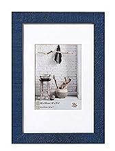 Walther Design Cadre Photo, Bois, Bleu, 30 x 40 cm