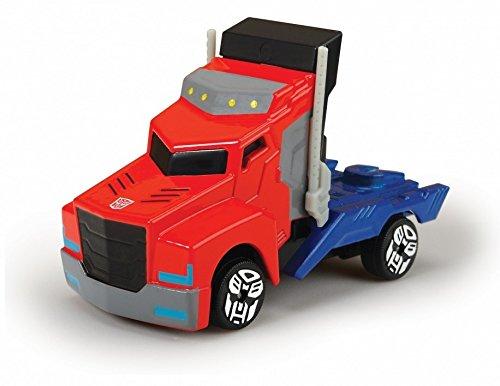 Transformers - Camion Optimus, Color Rojo /Azul, 23 cm (Dickie 3116003)