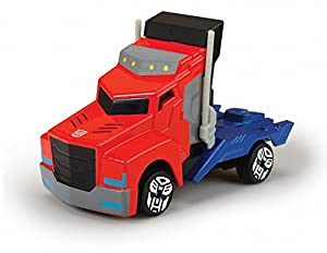 Transformers - Camion Optimus, Color Rojo /Azul, 23 cm (Dickie 3116003)