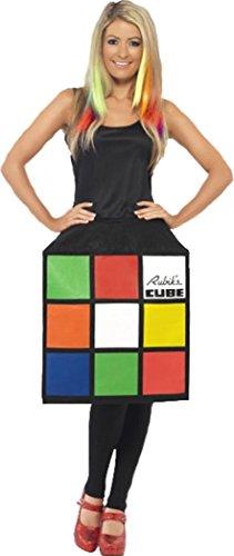 Film & TV Damen Lizensiert Kostüm Zauber 3D Würfel Kostüm Komplettes Outfit - Multi, Small