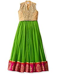 Elaisha Girls' Regular Fit Ghagra Choli
