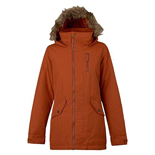 Burton Damen Hazel Jacket Snowboardjacke, Picante, S Burton Snowboard Jacke Rot