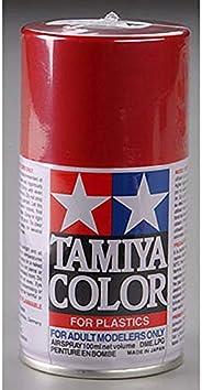 Tamiya Lacquer Spray Paint 3 oz,TAM85018, Metallic Red, TS-18