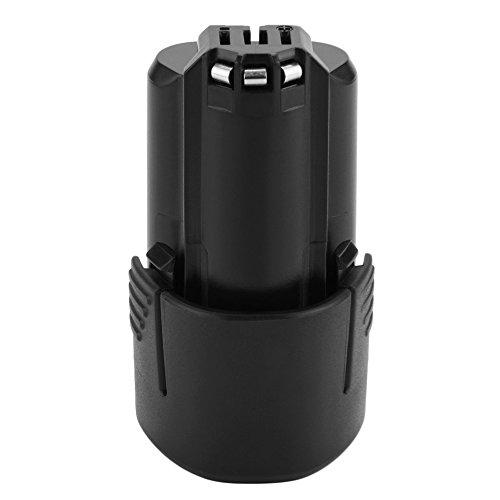 Eagglew 10,8V 2,0Ah Li-Ion Reemplazo Batería para Bosch BAT411 BAT411A BAT412 BAT412A BAT413 BAT413A BAT414 2607336013 2607336014 2607336027 2607336863 2607336864 2607336996 Taladro Inalambrico (2.0AH)