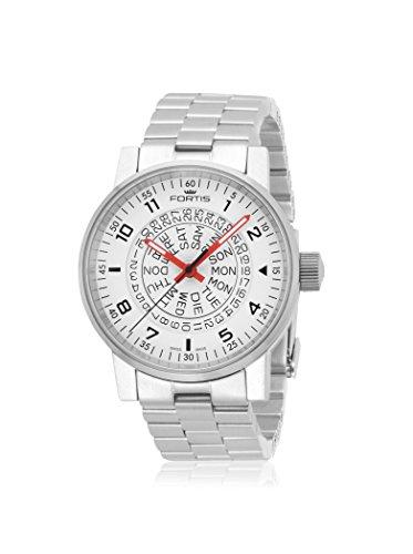 Fortis Spacematic Counterrotation Automatik Uhr, ETA 2836-2, Weiss, Limit Edit.