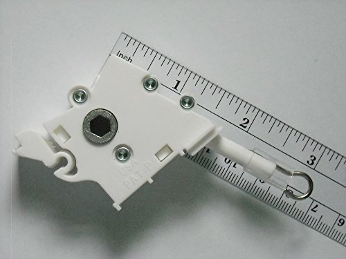 1Anzahl: Low Profile Zauberstab, Tilt Kontrolle für horizontale Jalousien/verzahnte für Hex Rod - Louver Kit