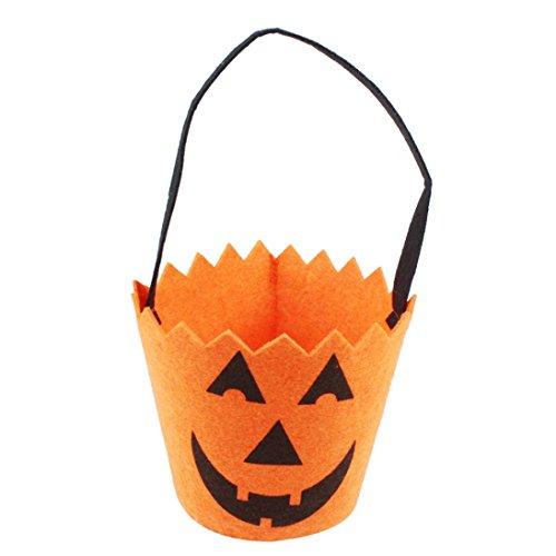 Transer® Halloween Candy Bag Kürbis/Skull/Spider bagkin Geschenktüten für Kinder Kinder (Kind Spider-kostüm)