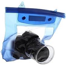 20M impermeable DSLR SLR cámara digital al aire libre caso de viviendas bajo el agua de la bolsa del bolso seco para Canon para Nikon Venta caliente