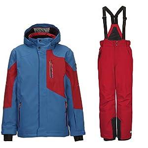 Killtec Skianzug Kinder Zado Jr für Jungen ist Wasserdicht, Winddicht und Atmungsaktiv