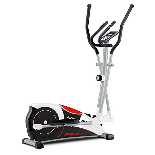 BH Fitness Athlon Run G2334RF elliptical cross trainer. Monitor LCD. Recovery test. Contact pulse measurement system