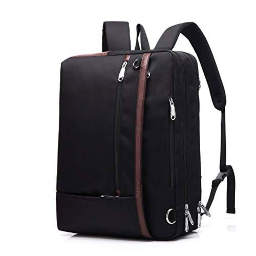 Convertible Schulter Tasche (LXMCP Convertible multifunktionaler Reiserucksack, Business-Computer-Laptop-Tasche, geräumige Unisex-Laptop-Hülle Schulter Umhängetasche für Frauen und Männer, Aktentasche Tablet Universal)
