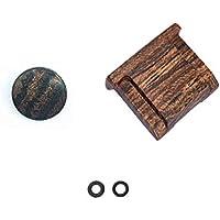 Bois Chaud couvre-bouchon Cap Pour Fujifilm X100F X100S X100T X-T20 X-PRO2 XPRO-1 X30 X-E2 X-E2S X-T10 STX-2 LXH W11R Convex Bois Doux bouton de lib/ération Finger Touch Rouge