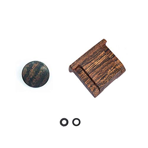 LXH Convex Wood Soft Release-Taste Finger Touch + Wood Blitzschuhüberzug Cap Für Fujifilm X-PRO2/1 X100T(Gelb) -