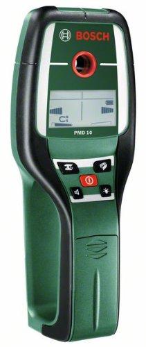 Preisvergleich Produktbild Bosch Digitales Ortungsgerät PMD 10 (1x 9 V Batterie, Tasche, Messtiefe max.: Stahl 100 mm, Kupfer 80 mm, Stromleitung 50 mm, Holz 25 mm)