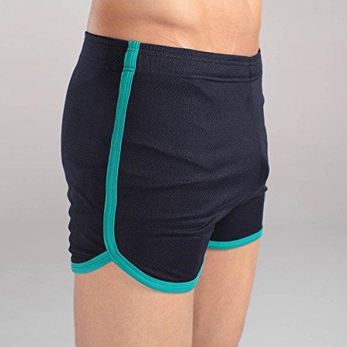 Xuba Männer Boxershorts Herren Seamless Unterwäsche Retroshorts Atmungsaktive Unterhosen Dunkelblau