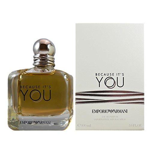 Armani Collezioni–Eau de Parfum Because itâ 's YOU EMPORIO ARMANI 100ml Giorgio Armani (Collezioni Armani Le)