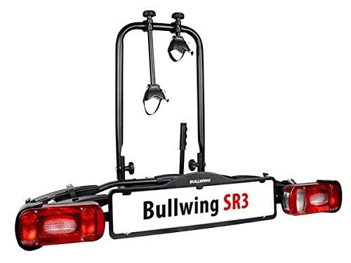 BULLWING SR3 Fahrradträger für Anhängerkupplung mit Wandhalterung