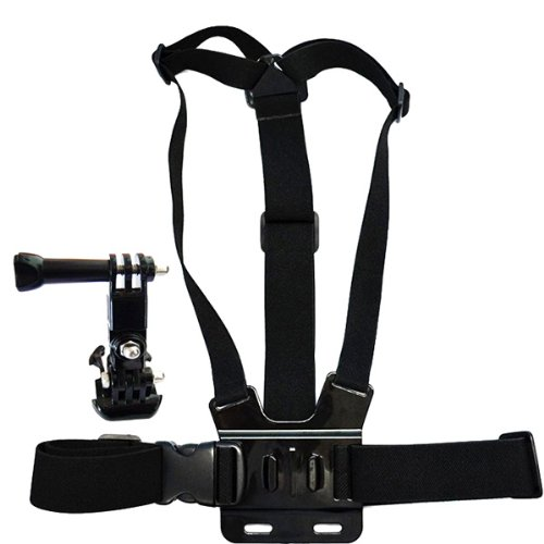 HuntGold Körper Chest Mount Harness Gurt Bügel + Mini Halter Halterung für Kamera Gopro Hero1/2/3 Chest Mount Harness