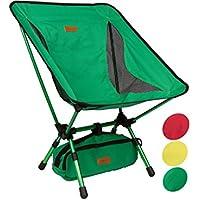 Trekology compatto portatile sedia da campeggio con