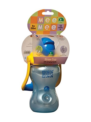 Mee Mee Straw Sipper Cup (Blue)